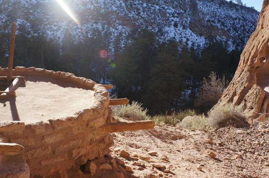 Bandelier National Monument: View from the top