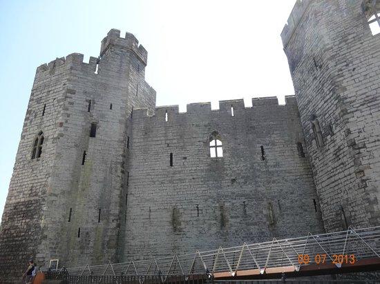 Caernarfon Castle: castelo
