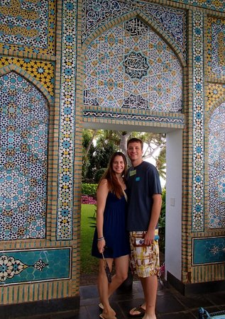 Shangri La: Incredible mosaics and tile work throughout