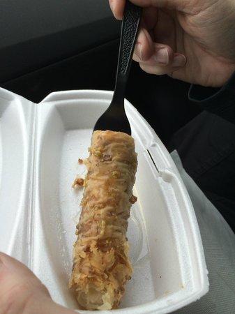King Gyros Greek Restaurant: Baklava Finger