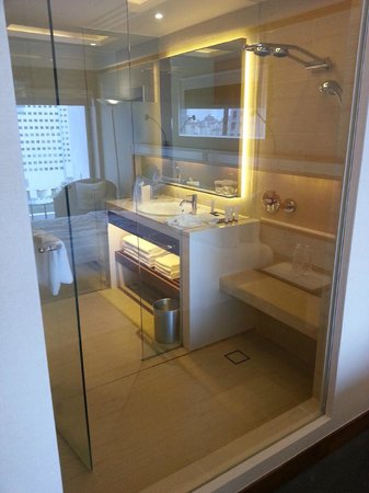 Pan Pacific Singapore: Bathroom (without the bath)