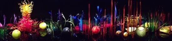Jardín y cristal Chihuly: wonderful!