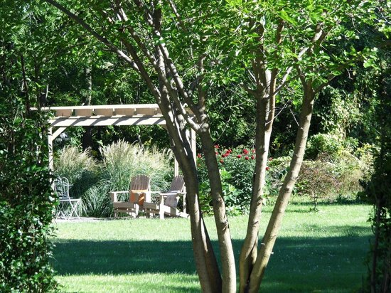 A Stone's Throw Bed and Breakfast: Ahhh! Garden Pergola
