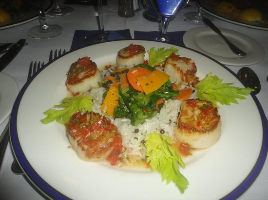 Eagle Grille: Thai Scallops