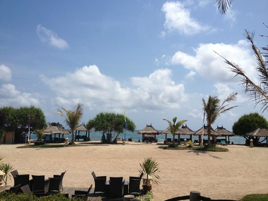 Novotel Lombok : view from the coffee shop