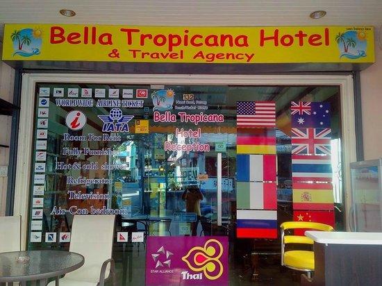 Bella Tropicana Hotel & Guesthouse: Reception Area