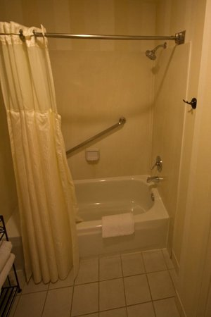 BEST WESTERN PLUS Novato Oaks Inn : Clean tub and shower.