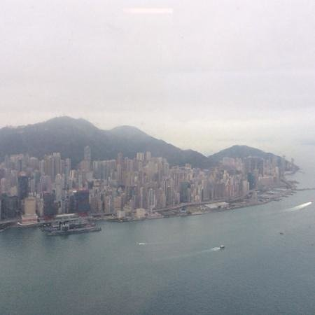 The Ritz-Carlton, Hong Kong : View of HK island from 112th floor