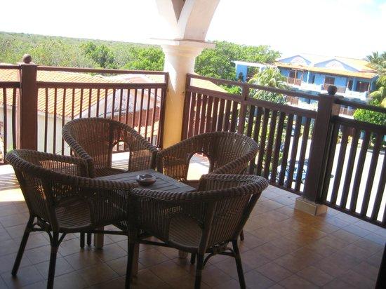Hotel Colonial Cayo Coco : friends balcony