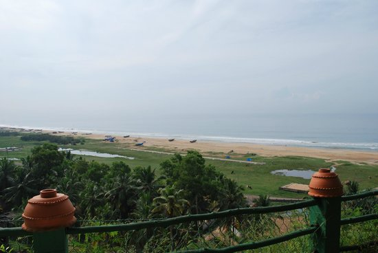 Somatheeram Ayurveda Resort: room in front of the Arabic Sea
