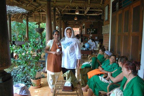 Somatheeram Ayurveda Resort: my beautiful and very kind therapiste