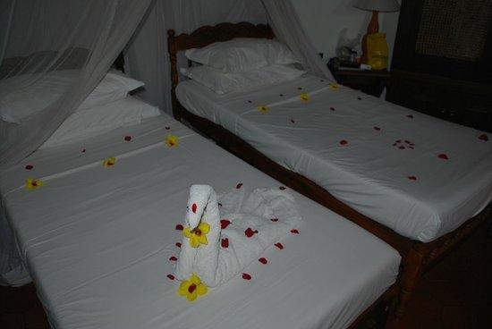 Somatheeram Ayurveda Resort: lovely room service