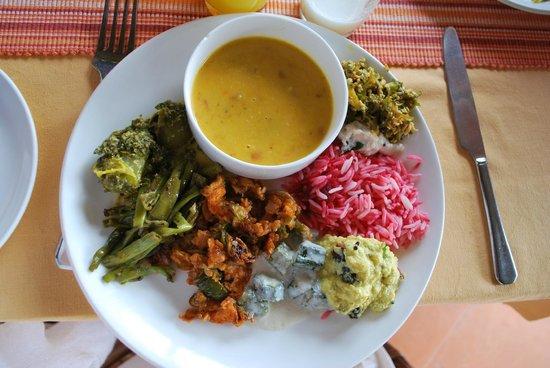 Somatheeram Ayurveda Resort: eating by my dosha