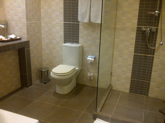 Protea Hotel by Marriott Kampala: Sizeable bathroom (shower + bath tub)
