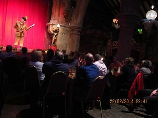 Brick Lane Music Hall: Mr Vincent Hayes never ran out of hilarious jokes !