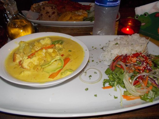 Flip Flop Restaurant: Indian Curry dish...very tasty