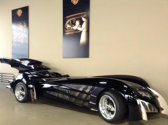 Warner Bros. Studio Tour Hollywood: Batmobile 2