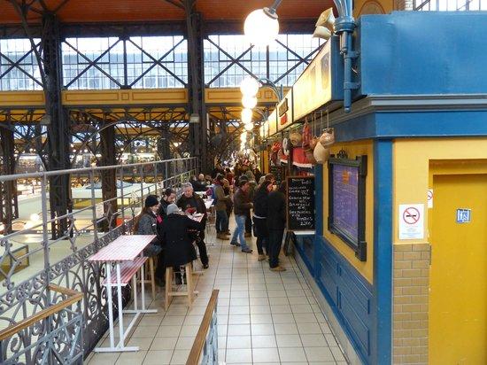 Central Market Hall: Los puestos de comida rápida