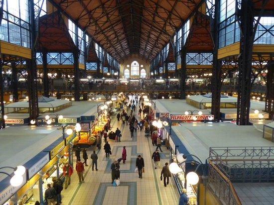 Central Market Hall: Vista desde la planta alta