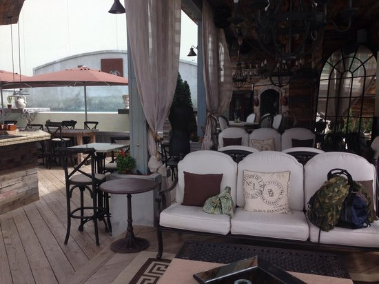 Olive Boutique Hotel : Rooftop