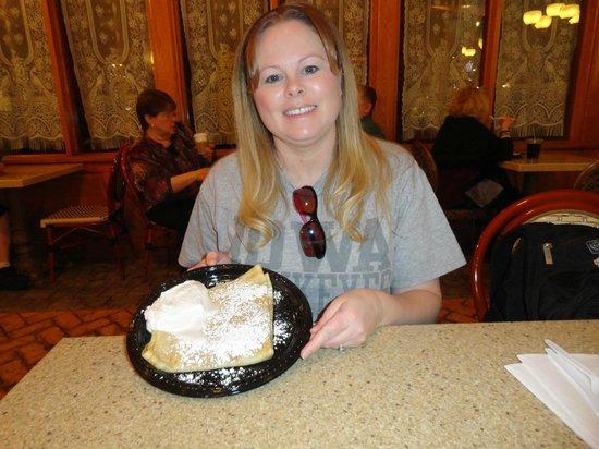 La Creperie at Paris : Butter and sugar crepe