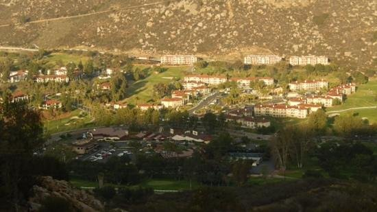Welk Resort San Diego: A portion of the Welk resort and golf courses