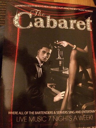 The Cabaret South Beach : This is a must