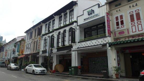 Wink Hostel: mosque st.