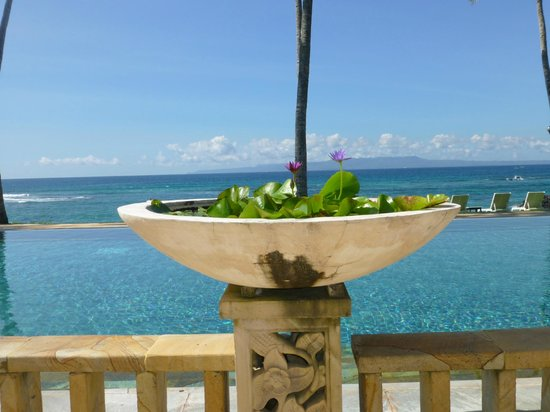 Candi Beach Resort & Spa: infinity pool
