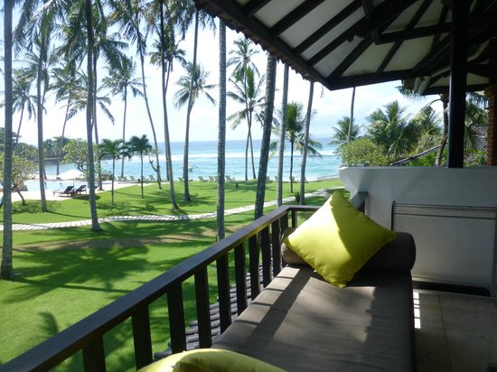 Candi Beach Resort & Spa: view from hotel room