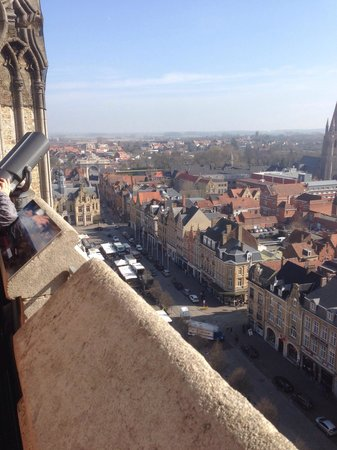 In Flanders Fields Museum: View from the top