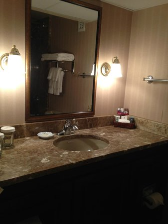 Pensacola Grand Hotel: Bathroom was very clean and high-end