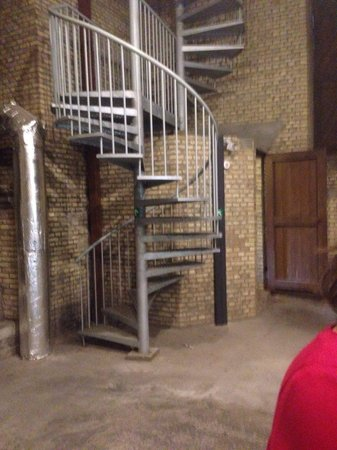 In Flanders Fields Museum: Lots and lots and lots of stairs