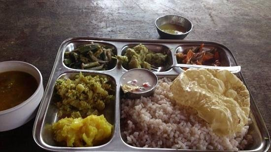Veg Thali at Coffee Temple