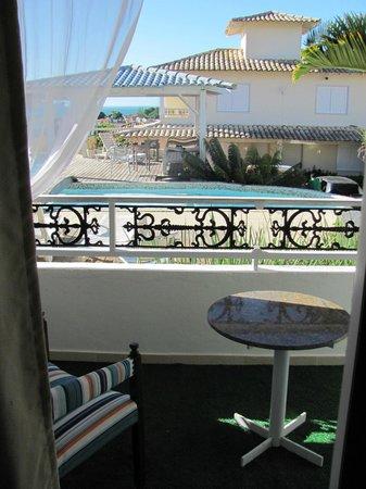 Pousada Aroma Do Mar: Vista desde el balcon de la habitacion