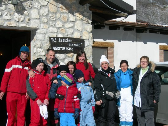 Al Peschio Pizzuto: Foto di gruppo