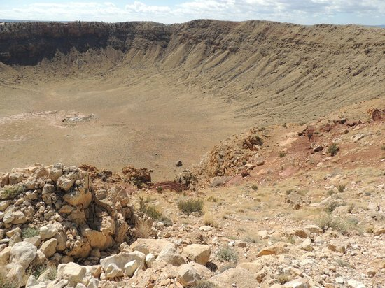 Meteor Crater : West Side of the Crater