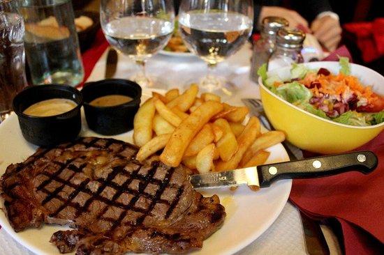 Le Bistrot 30 : 牛排套餐