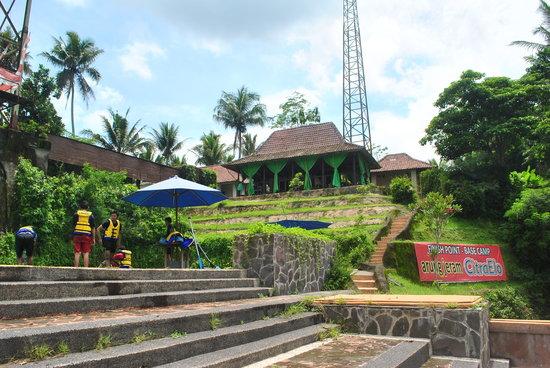 Magelang, Indonesia: Basecamp Arung Jeram CitraElo