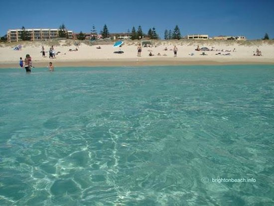 Crystal Clear Water With Beach Manor At Back Right Picture Of