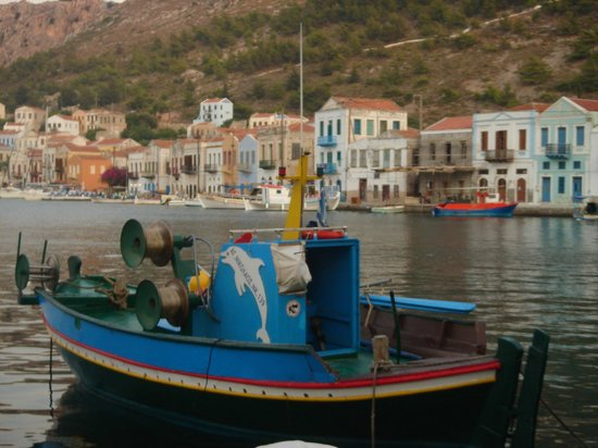 Poseidon Hotels: views from the harbour