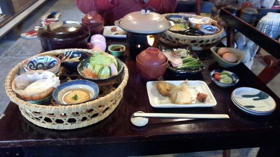 Sendo: 朝食
