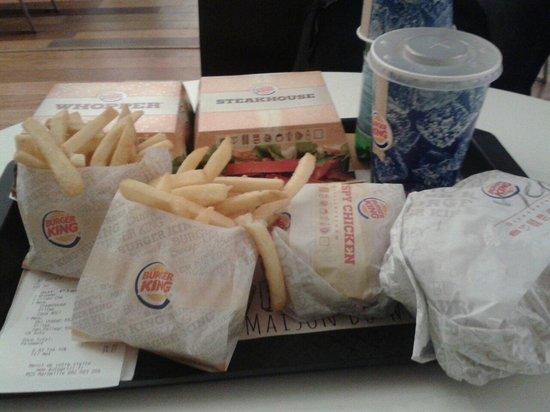 Burger King: Menus