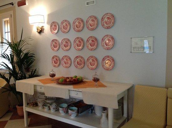 Relais Barco Zonca: Tavolo colazione