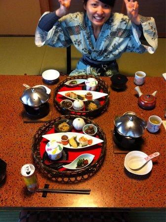 Yaeikan: The big breakfast!!