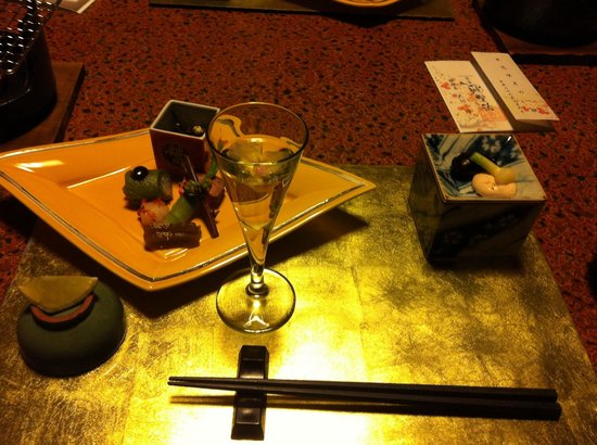 Yaeikan: One of the six dishes include with the night!
