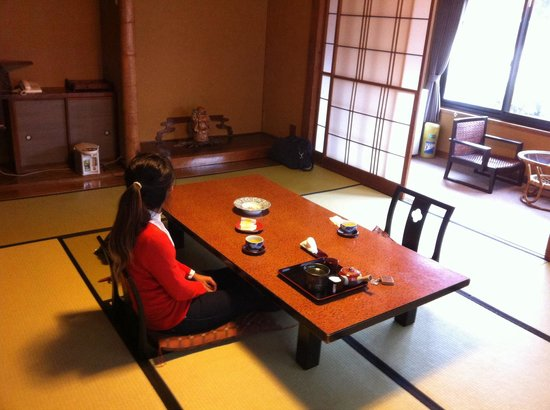 Yaeikan: Our room with view on the Japenese garden!