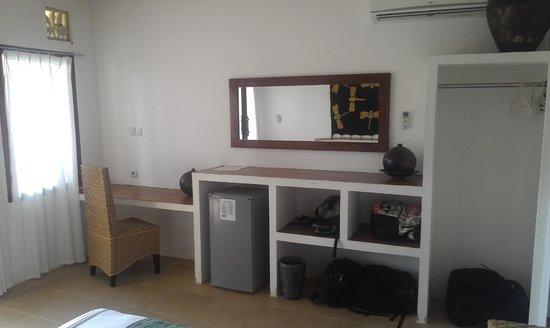 Satu Tiga Resort : Room with plenty of storage