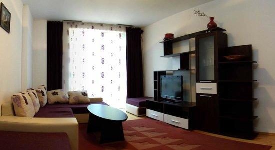 Coralia Serviced Apartments : Living Area