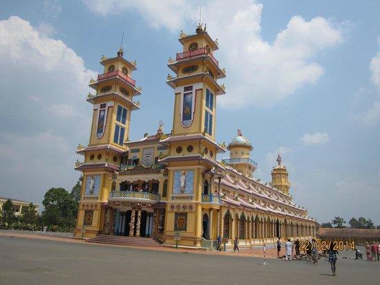 Cao Dai Temple : The temple